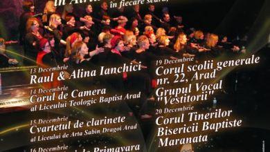 """Photo of Concertul """"Săptmâna Colindelor"""" la Arad"""