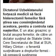Photo of Uzbekistan sterilizeazӑ femeile fӑrӑ știrea sau consimțӑmântul acestora