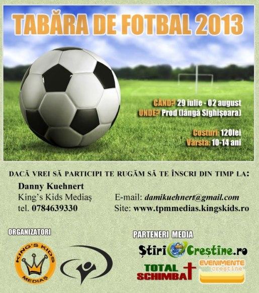 tabara fotbal 2013