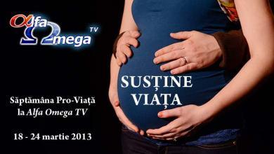 Photo of Susține viața alături de Alfa Omega TV!