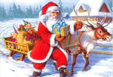 Vestea rea- Moş Crăciun vine în oraş