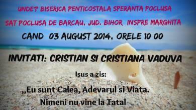 Photo of Evanghelizare şi Botez la Biserica Penticostală Speranţa, Pocluşa