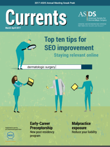 ASDS Currents Magazine Cover Feature