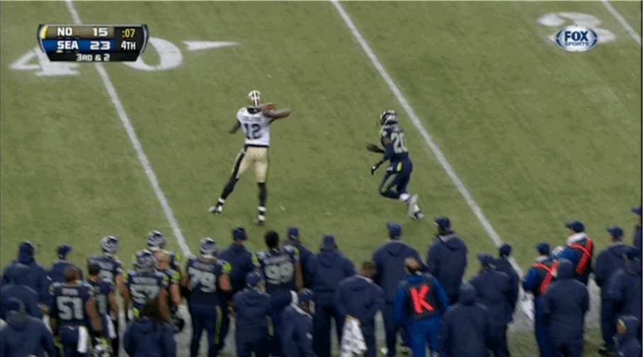 Marques Colston Throw