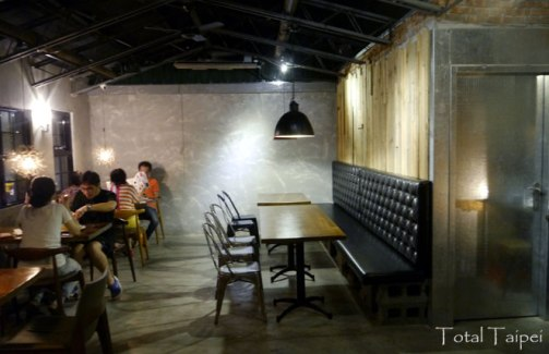 Dining area at No. 77 Cafe