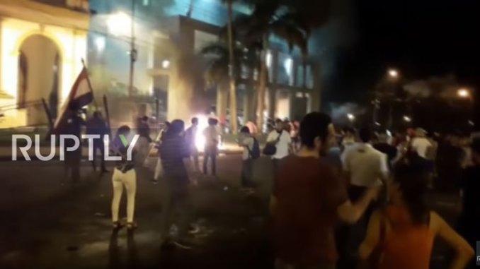paraguay riots