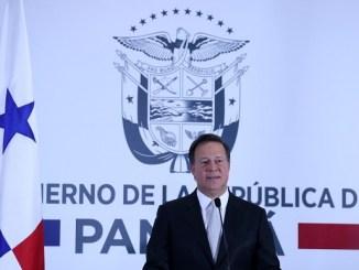 President Juan Carlos Varela