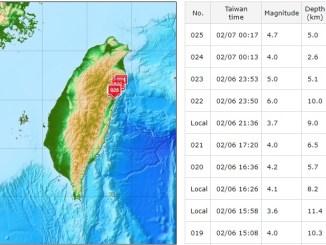 hualien earthquake