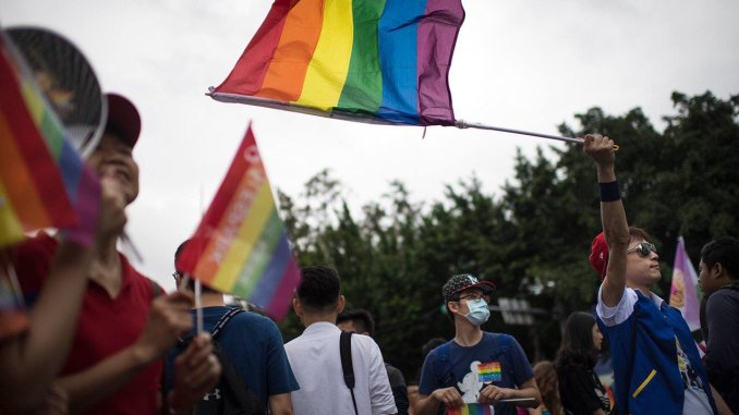 gay marriage taiwan