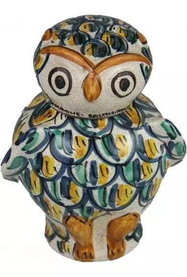 Ceramiche di caltagirone, il sito ufficiale per la vendita di oggetti in ceramica. Gufo In Ceramica Di Caltagirone Ceramica