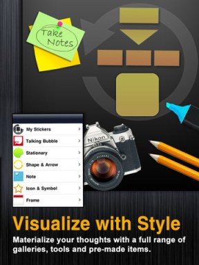 Visualize para iPad