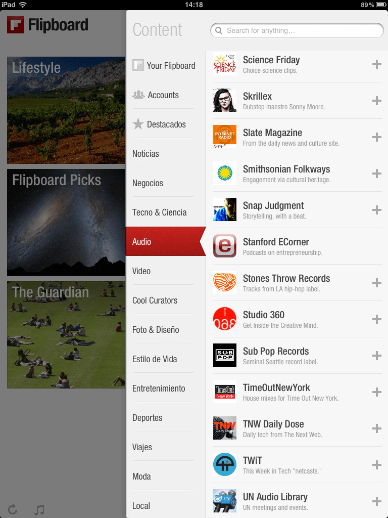 Flipboard_podcasts