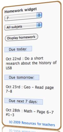 deberes plugin wordpress