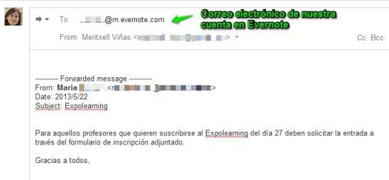 organizar emails tareas evernote