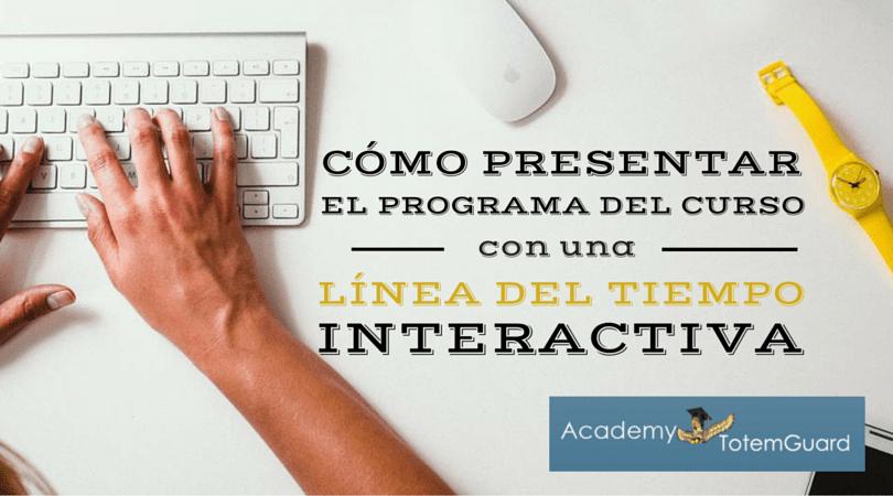crear linea tiempo interactiva