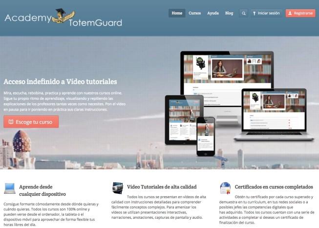 Academy-totemguard-LMS-wordpress
