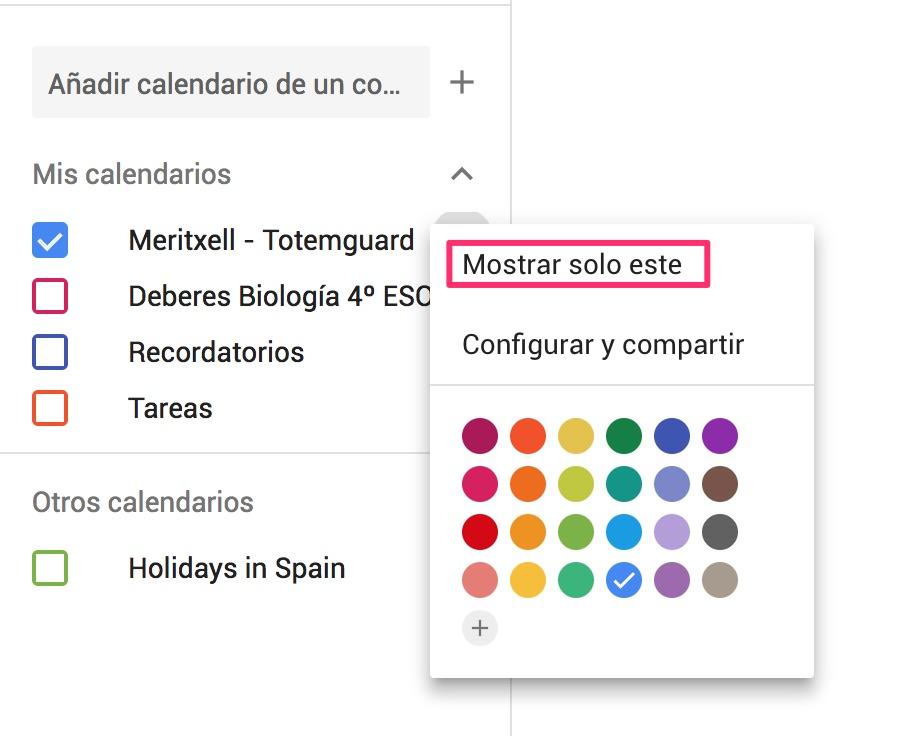 Anadir Calendario.Como Usar Y Compartir El Calendario De Google Para