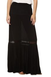 Debbie-Savage-Cotton-On-Black-Maxi-Skirt
