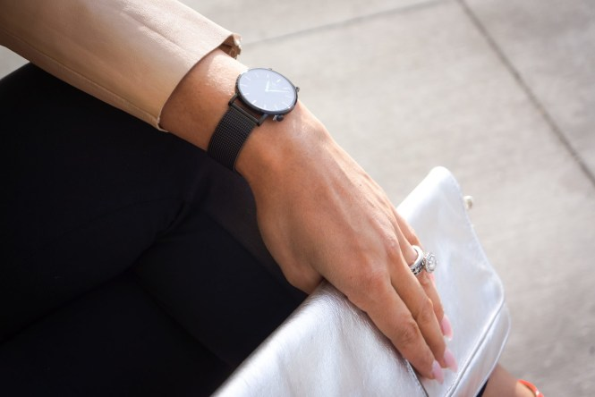Debbie Savage of To Thine Own Style Be True and Welly Merck Watches