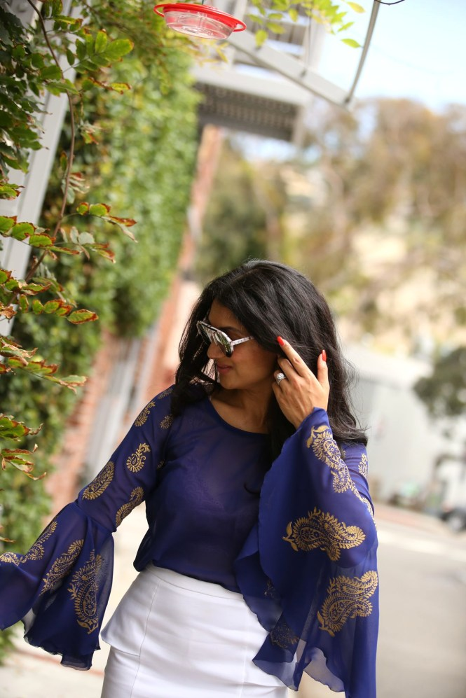 Bell Sleeves to Remember from Amu Cherian