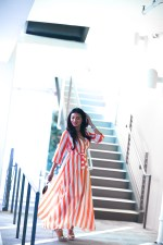 Stay Cozy and with Long-Sleeved Maxi Dresses