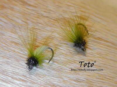 Caddis CDC Látex by Toto®