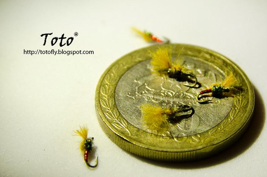 Un Micro Emergente de díptero y los secretos para atar moscas pequeñas... by Toto®
