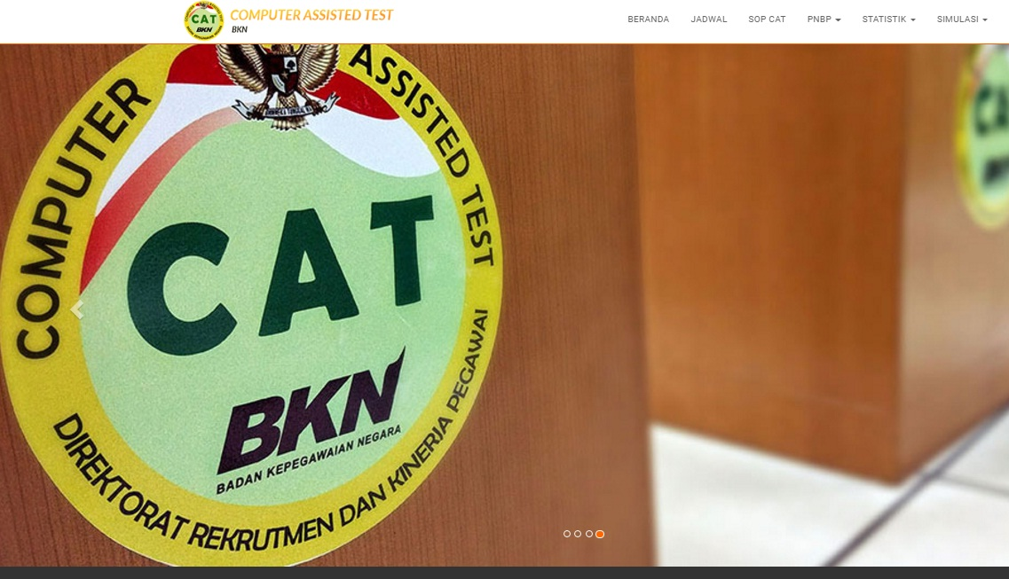 Pedoman cara mengerjakan ujian online cpns sistem CAT