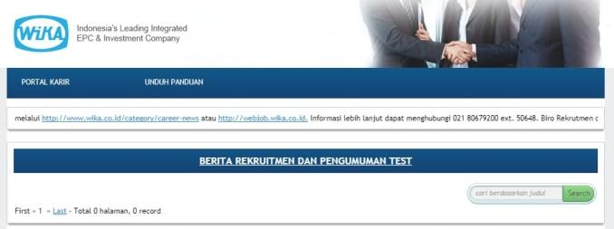 Lowongan Kerja BUMN PT Wijaya Karya WIKA Serempak tahun 2018