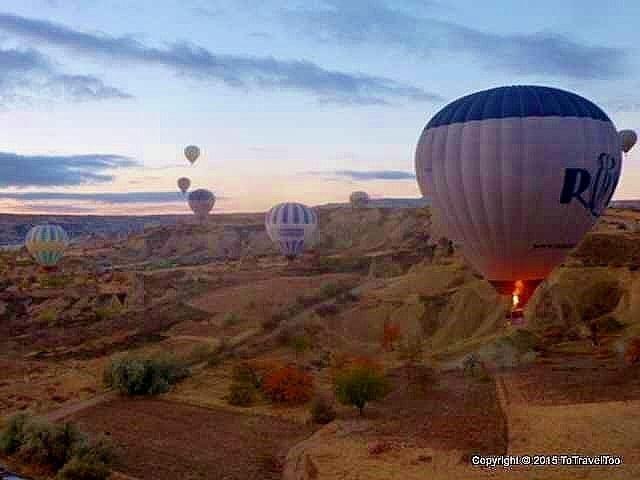 Hot Air Balloon Ride Turkey