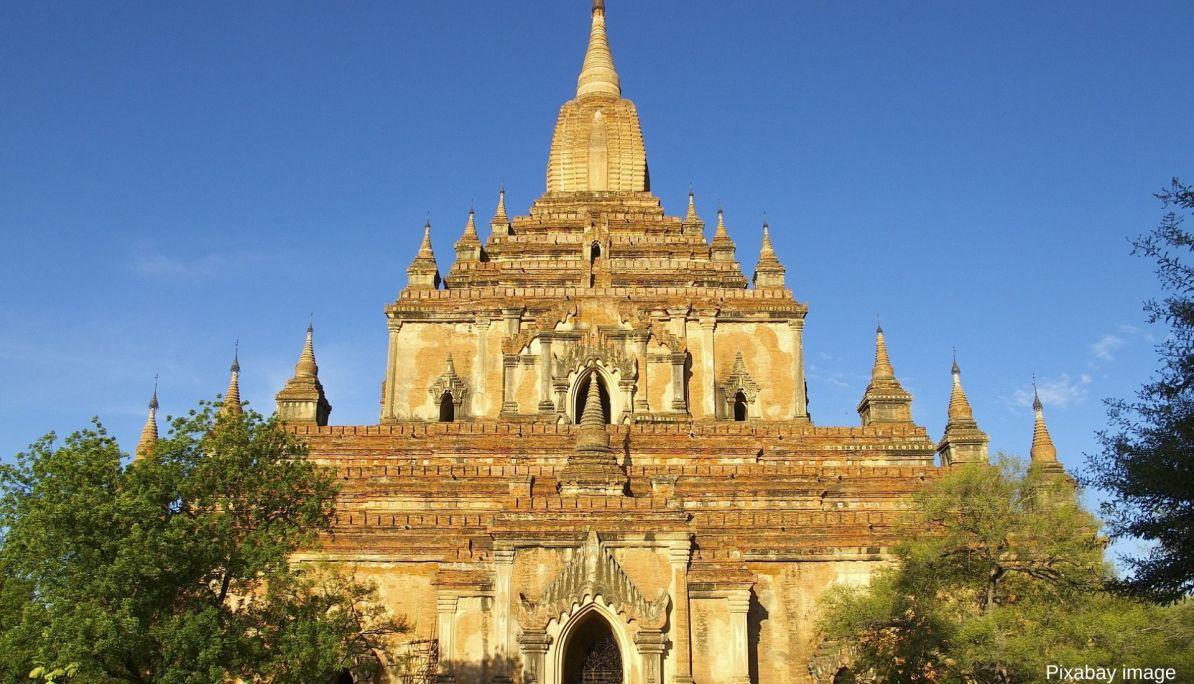Sulamani Pagoda for sunset