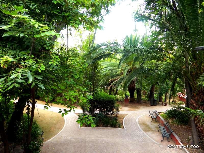 Parque Benito Juarez in San Miguel de Allende Mexico