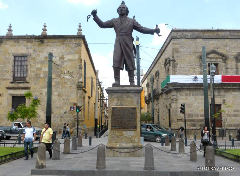 Monumento Hidalgo in Guadalajara