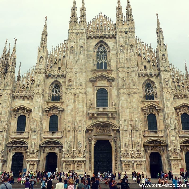 Gothic Cathedral in Milan