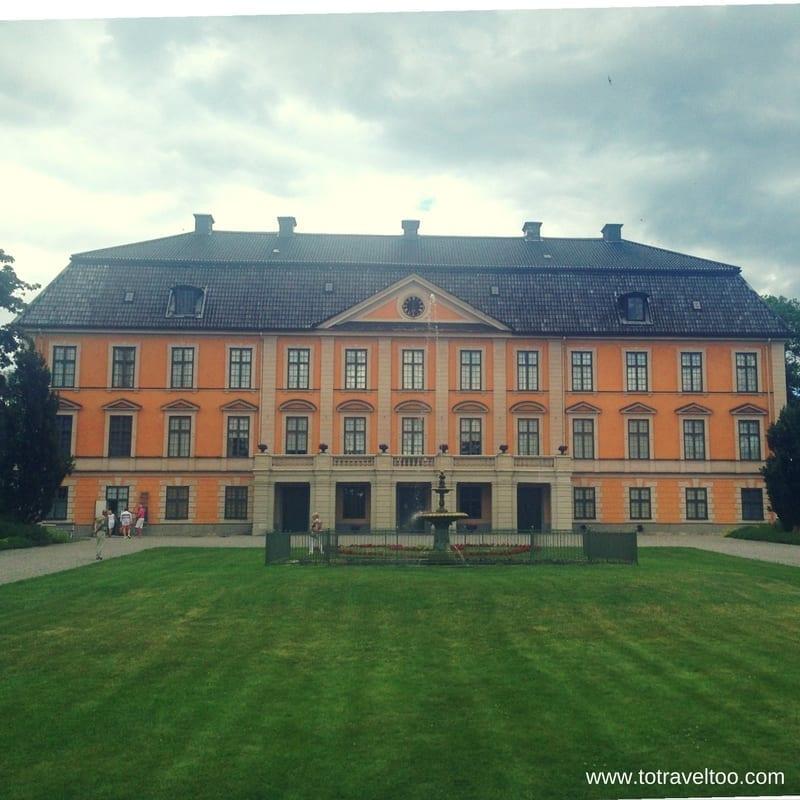 Nynas Manor House Sormland Region Sweden