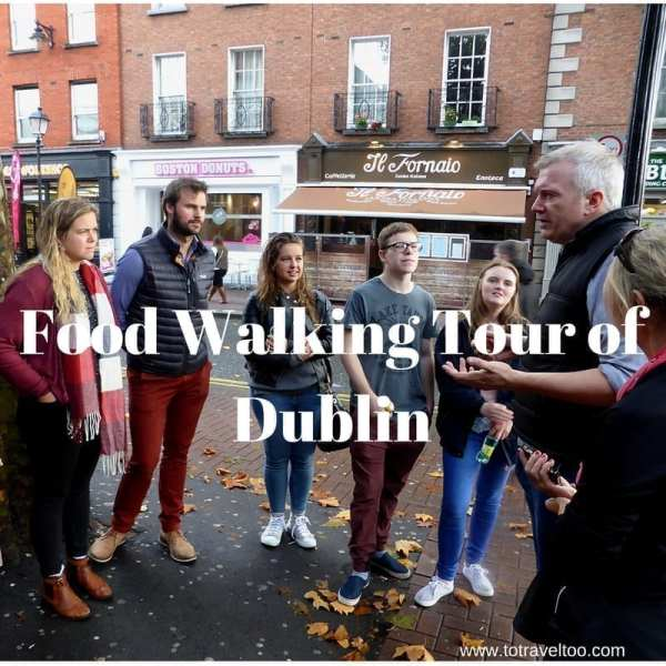 Food Walking Tour of Dublin