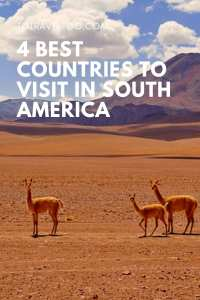Pinterest - Best countries to visit in South America