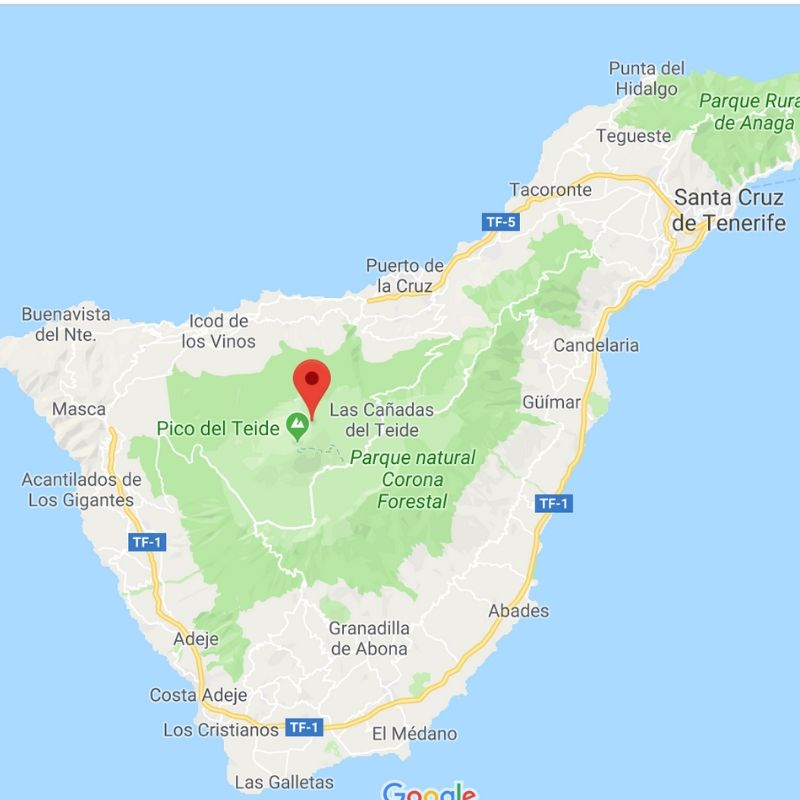 Map of Tenerife - Most beautiful places to visit in Tenerife