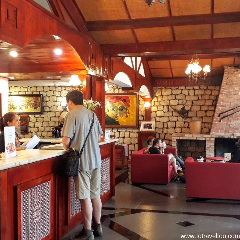 Reception at the Victoria Sapa Resort & Spa