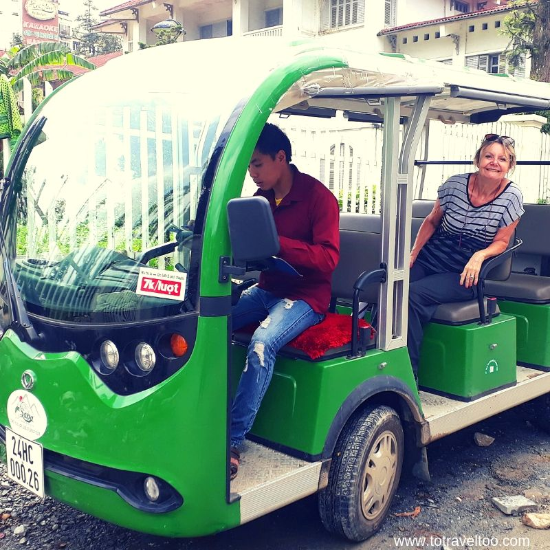 local transport around Sapa