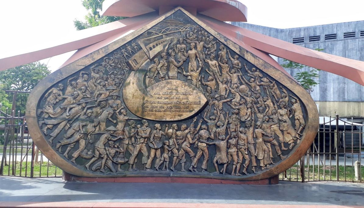 Anti Tax Movement Monument in Hue