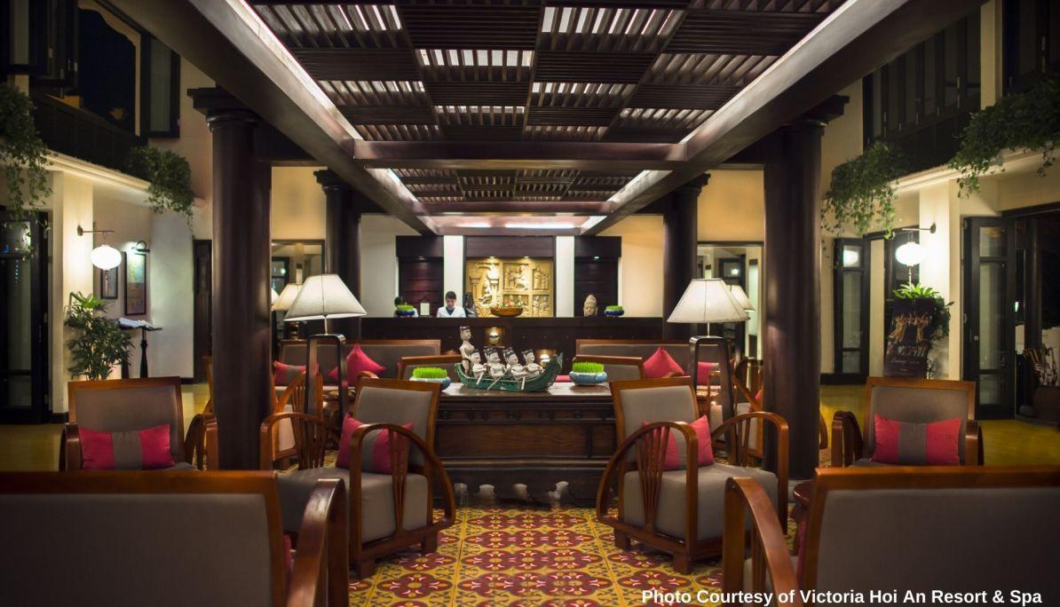 Reception at Victoria Hoi An Beach Resort