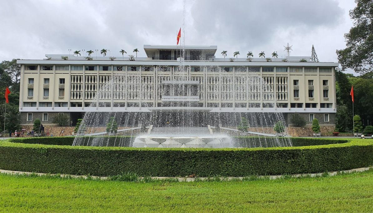 Reunification Palace - one of the things to do 5 days in Saigon