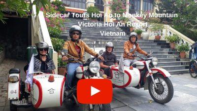 YouTube SideCar Tours Hoi An to Monkey Mountain Vietnam