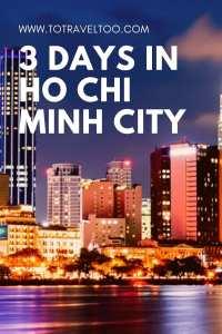 Pinterest 3 days in Ho Chi Minh City