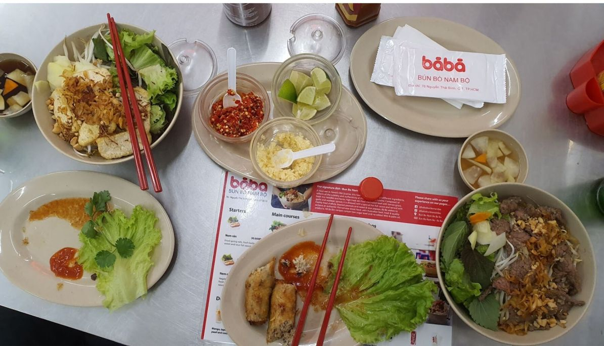 Dine at Bun Bo Nam Bo Restaurant