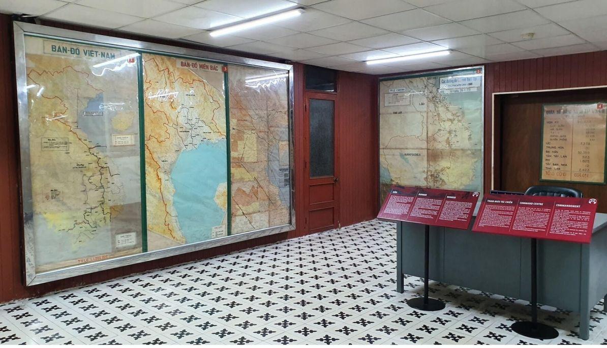 The Bunker Communications Room
