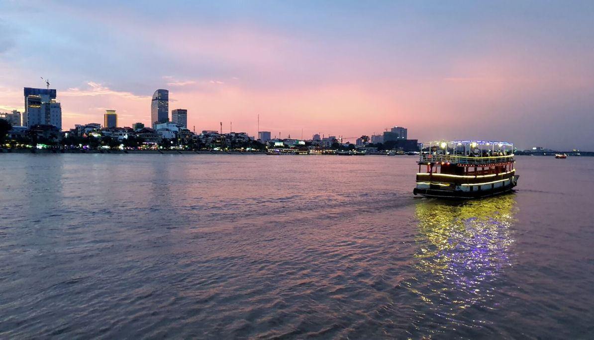 Evening Cruise on Tonle Sap River