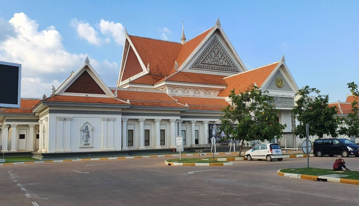 Entrance to Angkor Wat Ticket Complex