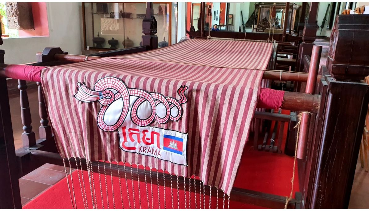 Longest scarf in Cambodia